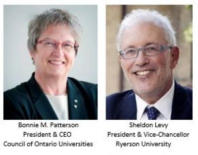 Bonnie Patterson & Sheldon Levy: Straight talk about universities and their contribution to prosperity