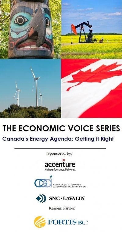Launch of The Economic Voice Series - Canada's Energy Agenda: Getting it Right